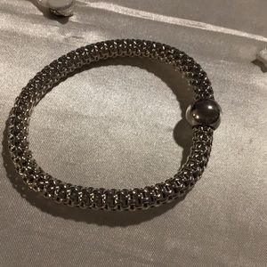 Silpada Sterling Silver Mesh Bracelet B2788